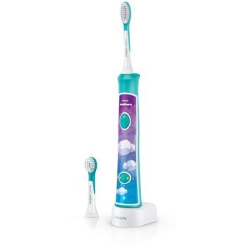 Philips Sonicare For Kids 3+ HX6322/04 Sonic Electric periuța de dinți pentru copii cu Bluetooth notino poza