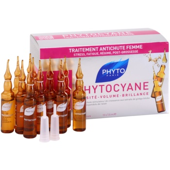 Phyto Phytocyane ser revitalizant impotriva caderii parului imagine 2021 notino.ro