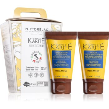 Phytorelax Laboratories Burro Di Karité set cadou de maini imagine 2021 notino.ro