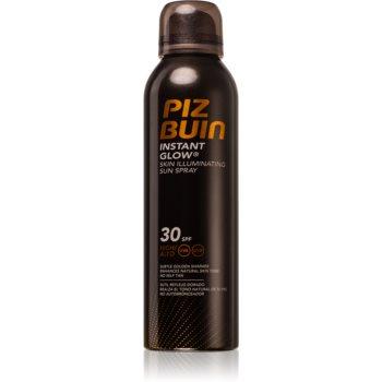 Piz Buin Instant Glow Spray-bronzare cu un efect radiant SPF 30 imagine 2021 notino.ro