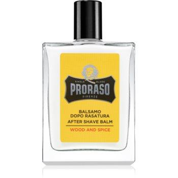 Proraso Wood and Spice balsam hidratant dupa barbierit imagine 2021 notino.ro