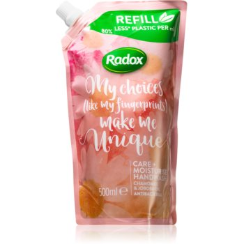 Radox Make Me Unique sapun hidratant de maini imagine 2021 notino.ro