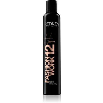Redken Hairspray Fashion Work 12 spray pentru păr vopsit imagine 2021 notino.ro