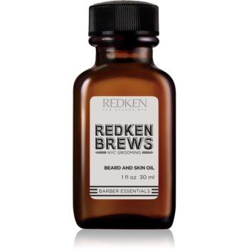 Redken Brews ulei pentru barbă și mustață imagine 2021 notino.ro