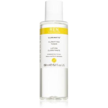 REN Clarimatte™ tonic pentru curatare pentru piele mixta spre grasa imagine 2021 notino.ro