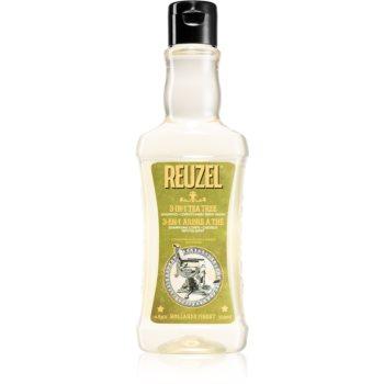 Reuzel Tea Tree șampon, balsam și gel de duș 3 în 1 pentru barbati imagine 2021 notino.ro