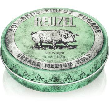 Reuzel Hollands Finest Pomade Grease alifie pentru par fixare medie imagine 2021 notino.ro