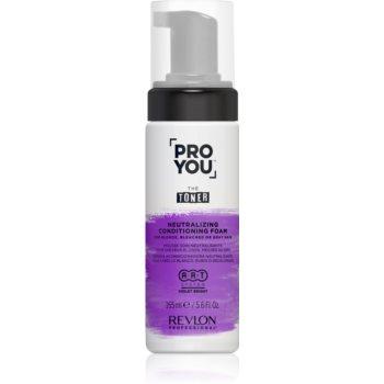 Revlon Professional Pro You The Toner balsam hidratant de neutralizare tonuri de galben pentru părul blond şi gri imagine 2021 notino.ro