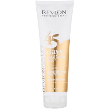 Revlon Professional Revlonissimo Color Care 2 în 1 șampon și balsam pentru păr blond mediu notino.ro