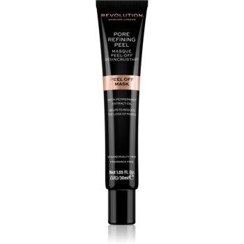Revolution Skincare Pore Refining Peel masca gel exfolianta pentru pori dilatati notino.ro