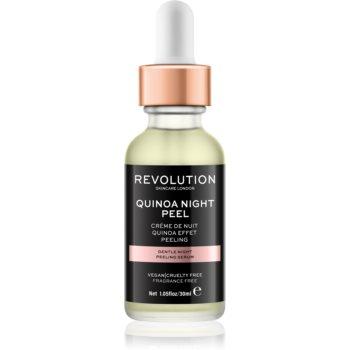 Revolution Skincare Quinoa Night Peel serum cu textură de peeling pentru noapte imagine 2021 notino.ro