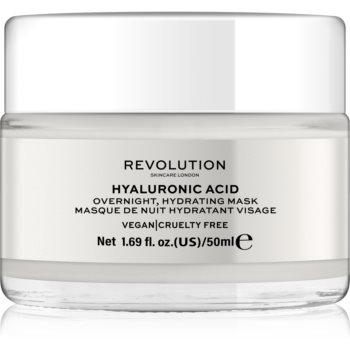 Revolution Skincare Hyaluronic Acid masca hidratanta de noapte facial notino.ro