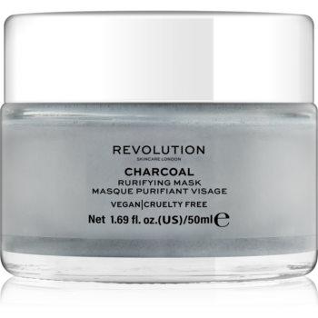 Revolution Skincare Charcoal masca de fata pentru curatare notino.ro