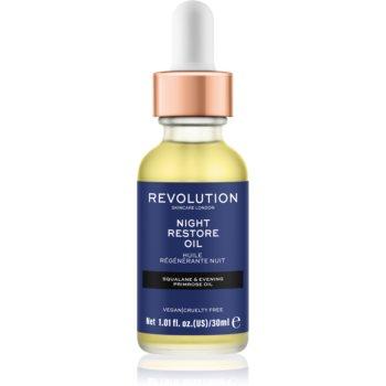 Revolution Skincare Night Restore Oil ulei hidratant iluminator imagine 2021 notino.ro
