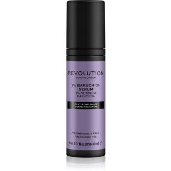 Revolution Skincare 1% Bakuchiol Serum ser uleios antioxidant, pentru față pentru uniformizarea nuantei tenului imagine 2021 notino.ro