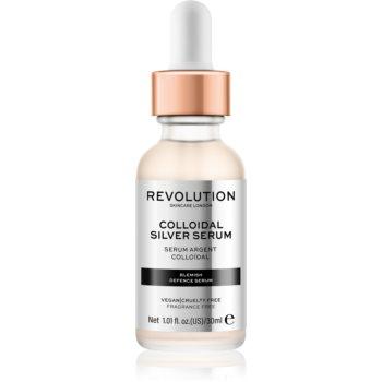 Revolution Skincare Colloidal Silver Serum Ser activ pentru a netezi conturul feței imagine 2021 notino.ro