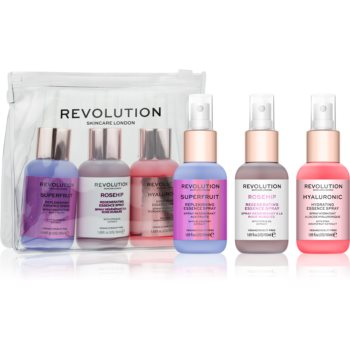 Revolution Skincare Mini Essence Hello Hydration set pentru îngrijirea pielii cu efect de hidratare imagine 2021 notino.ro