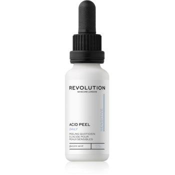 Revolution Skincare Peeling Solution exfoliant facial pentru piele sensibilă imagine 2021 notino.ro