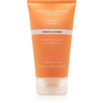 Revolution Skincare Vitamin C cremă de curățare cu vitamina C imagine 2021 notino.ro