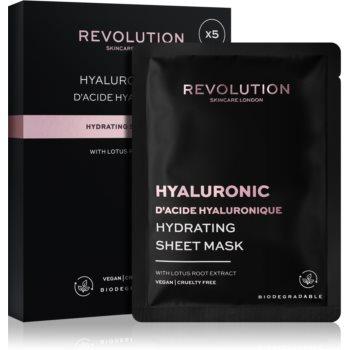 Revolution Skincare Hyaluronic Acid set de măști textile pentru hidratare intensa imagine 2021 notino.ro