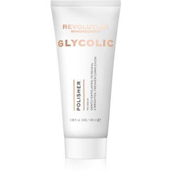 Revolution Skincare Glycolic Acid Polisher exfoliant iluminator imagine 2021 notino.ro