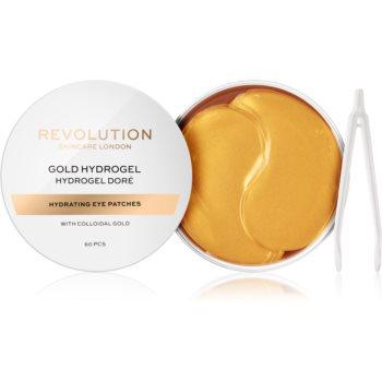 Revolution Skincare Gold Hydrogel masca hidrogel pentru ochi cu aur image0