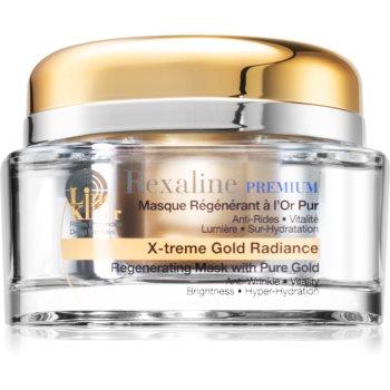 Rexaline Premium Line-Killer X-Treme Gold Radiance masca profund reparatorie cu aur de 24 de karate notino poza