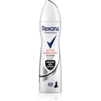 Rexona Active Protection+ Invisible spray anti-perspirant pentru femei imagine 2021 notino.ro
