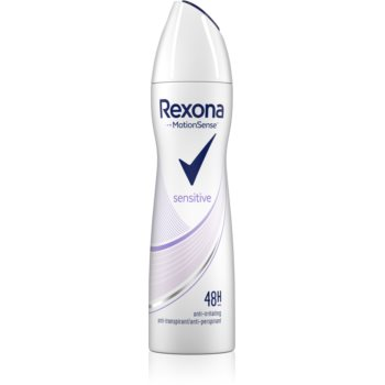 Rexona Sensitive spray anti-perspirant imagine 2021 notino.ro