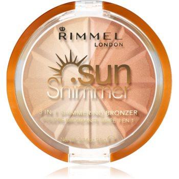 Rimmel Sun Shimmer pudra bronzanta stralucitoare imagine 2021 notino.ro