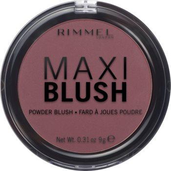 Rimmel Maxi Blush fard de obraz sub forma de pudra imagine 2021 notino.ro