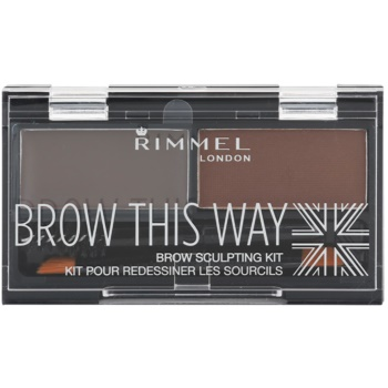 Rimmel Brow This Way paleta pentru machiaj sprancene imagine 2021 notino.ro