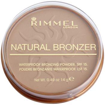 Rimmel Natural Bronzer pudra bronzanta impermeabila SPF 15 imagine 2021 notino.ro