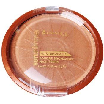 Rimmel Sun Shimmer pudra bronzanta imagine 2021 notino.ro
