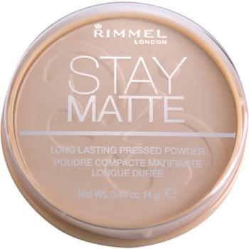 Rimmel Stay Matte pudra imagine 2021 notino.ro
