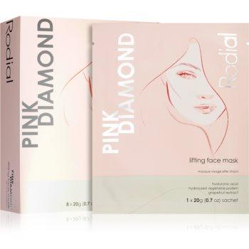 Rodial Pink Diamond Lifting Face Mask mască textilă cu efect de lifting imagine 2021 notino.ro