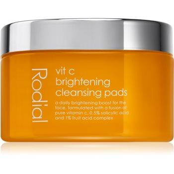 Rodial Vit C Brightening Cleansing Pads dischete demachiante cu vitamina C notino poza