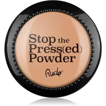 Rude Cosmetics Stop The Press(ed) Powder pudra compacta notino.ro