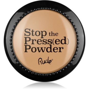 Rude Cosmetics Stop The Press(ed) Powder pudra compacta imagine 2021 notino.ro