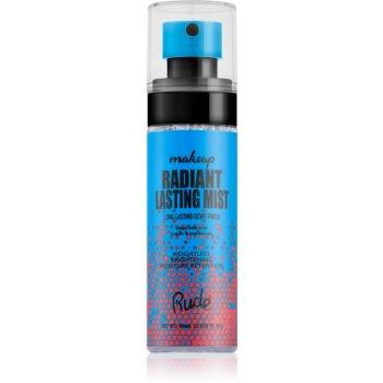 Rude Cosmetics Radiant Lasting Mist spray pentru fixare și strălucire imagine 2021 notino.ro