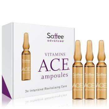 Saffee Advanced Vitamins A.C.E. Ampoules fiolă – 3 zile de tratament cu vitaminele A, C, și E imagine 2021 notino.ro