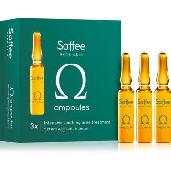 Saffee Acne Skin fiolă – 3 zile de tratament de terapie intensivă pentru calmarea simptomelor acneice imagine 2021 notino.ro