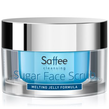 Saffee Cleansing Melting Jelly Scrub exfoliant din zahăr pentru față notino.ro