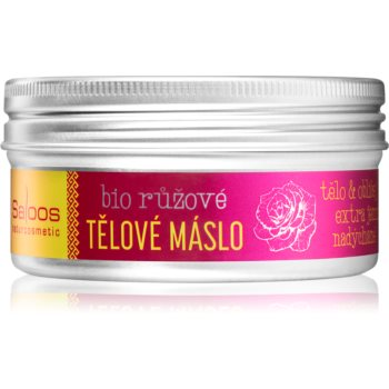 Saloos Bio Butter unt de corp hranitor cu ulei de trandafir imagine 2021 notino.ro