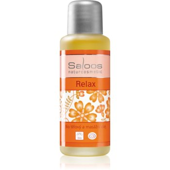 Saloos Bio Body and Massage Oils ulei de corp pentru masaj Relax imagine 2021 notino.ro