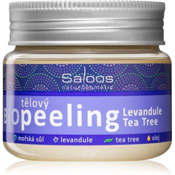 Saloos Bio Peeling exfoliant corporal cu lavandă și arbore de ceai imagine 2021 notino.ro