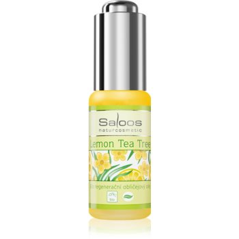 Saloos Bio Regenerative Lemon Tea Tree ulei bio pentru față, cu efect de regenerare imagine 2021 notino.ro