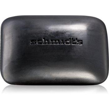 Schmidt's Activated Charcoal săpun solid pentru curățare imagine 2021 notino.ro