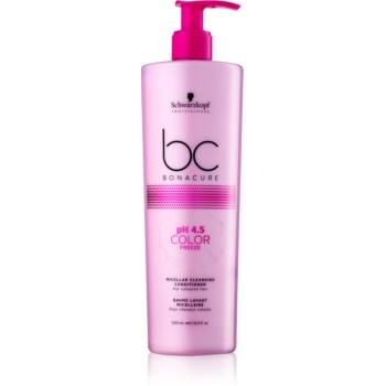 Schwarzkopf Professional BC Bonacure pH 4,5 Color Freeze balsam micelar de curățare pentru păr vopsit notino.ro