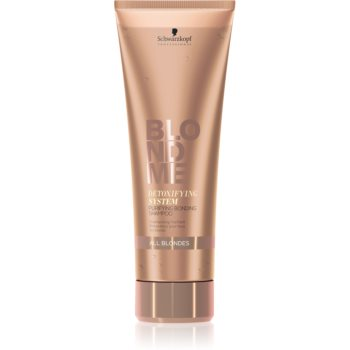 Schwarzkopf Professional Blondme șampon detoxifiant pentru curățare pentru toate nuantele de blond notino.ro